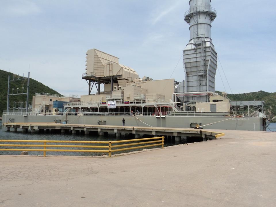 Tacoa power barge