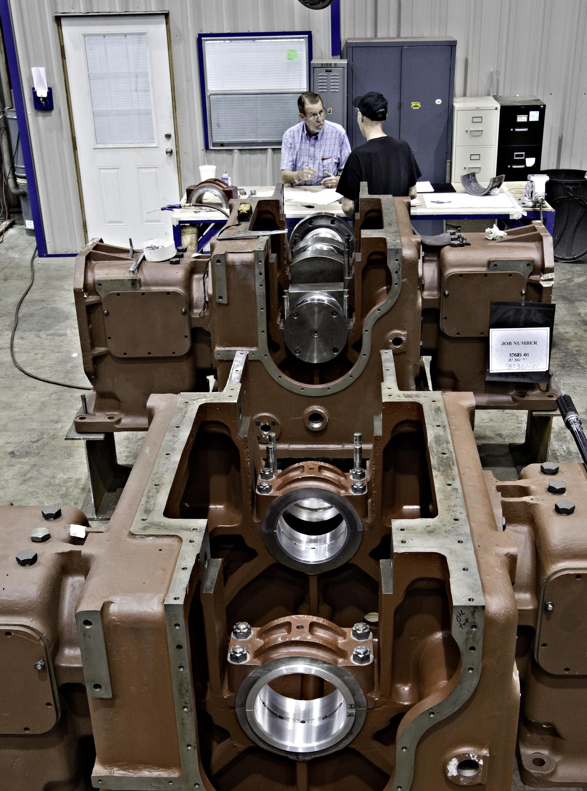 Reciprocating Engines & pressor Repair